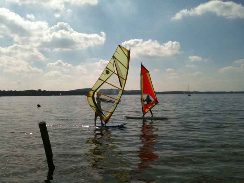 Windsurfen-Kurs am Müggelsee in Berlin